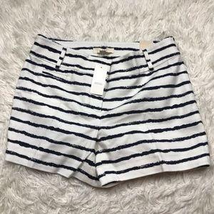 NWT Loft Ann Taylor Linen Shorts Sz 4
